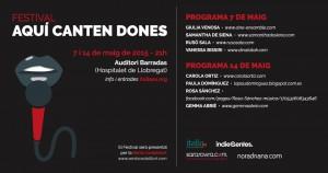 Festival Aquí Canten Dones @ Auditori Barradas | Barcelona | Cataluña | España
