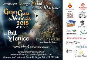 Gran Gala del Carnaval de Venecia @ Finca Mas Soler
