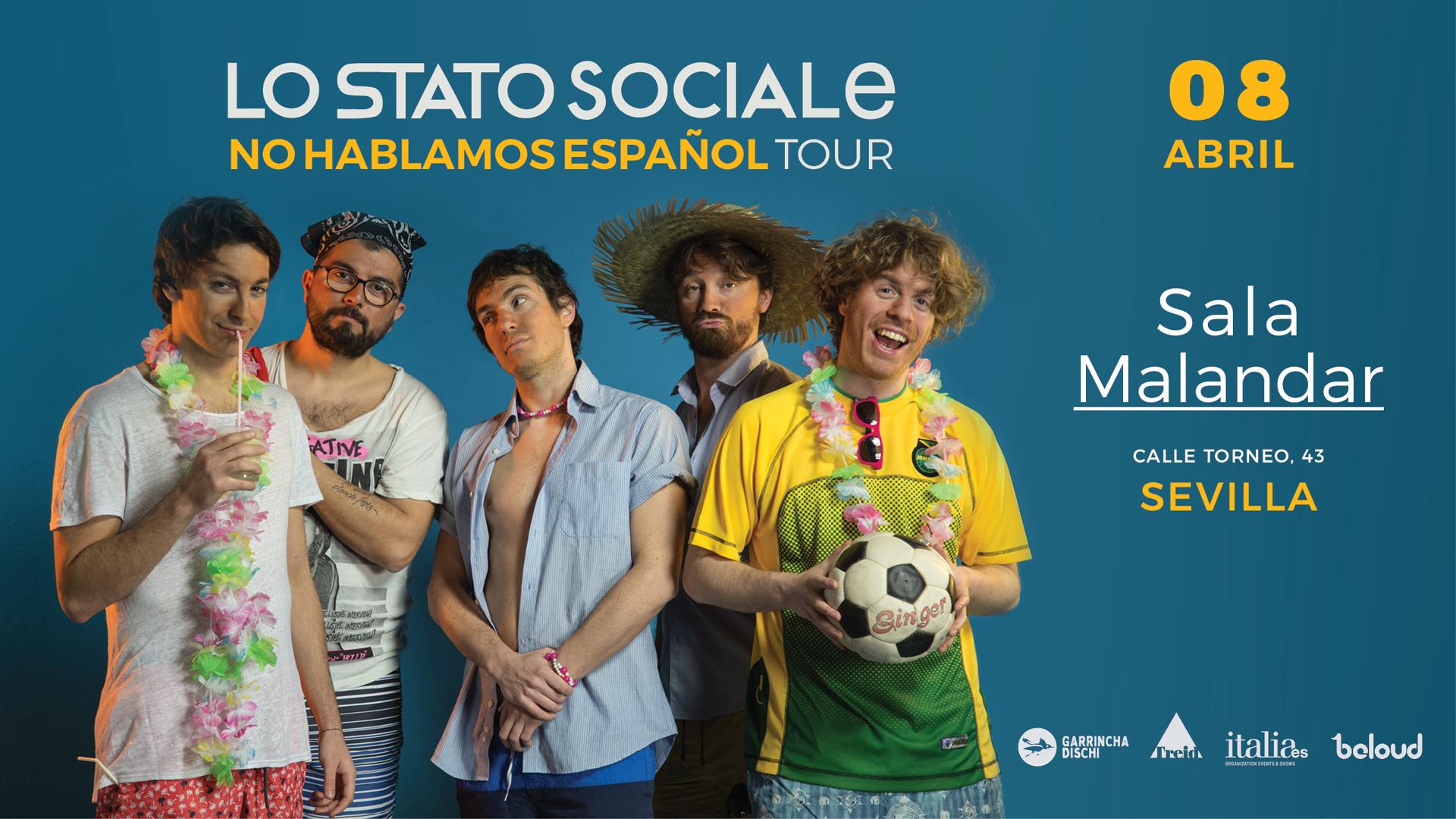 Lo Stato Sociale en Sevilla