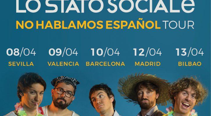 Lo Stato Sociale - Spain Tour 2018