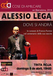 Alessio Lega y Guido Baldoni - Festival Cose di Amilcare @ Sala Tinta Roja