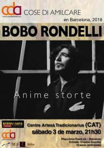 Bobo Rondelli presenta Anime storte - Festival Cose di Amilcare @ C.A.T. Tradicionàrius