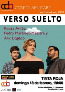 Verso suelto - Festival Cose di Amilcare @ Sala Tinta Roja