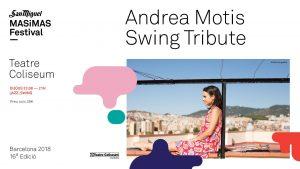 Andrea Motis Swing Tribute @ Teatre Colisem