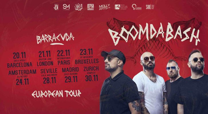 Boomdabash in Barcelona, Seville and Madrid