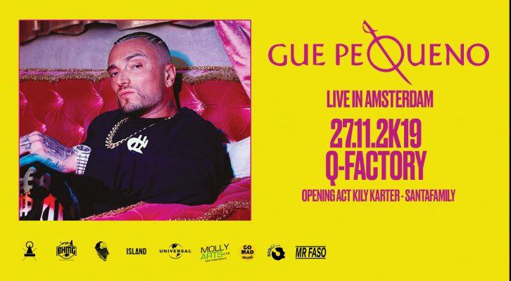 Guè Pequeno live in Amsterdam