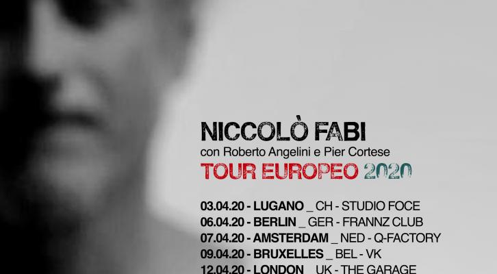 Niccolò Fabi a Barcellona e Madrid